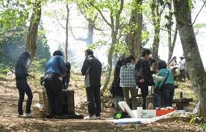 広島県立もみのき森林公園BBQ広場